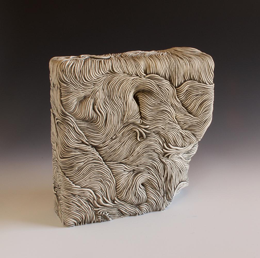 Erik Gellert, Erik, Gellert, Erik H Gellert, ceramic, mason stain, clay, sculpture, contemporay craft, coil, coilbuilt.