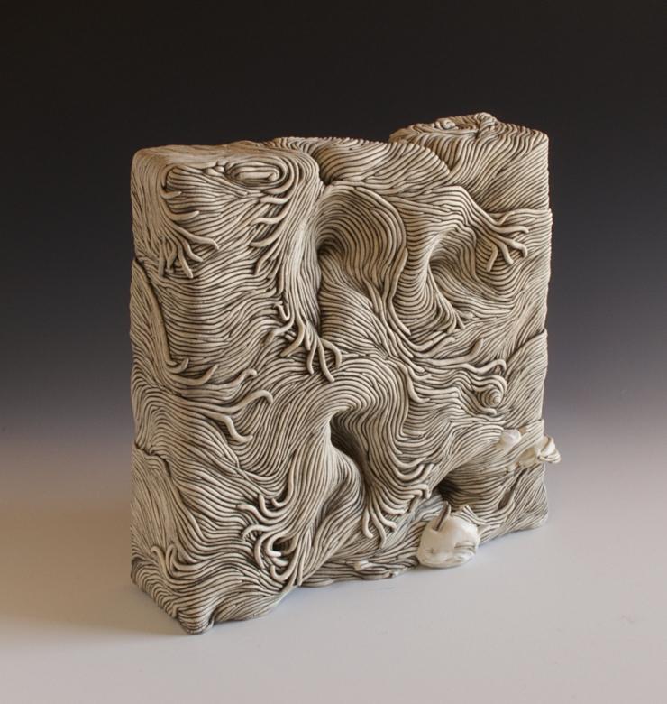 Erik Gellert, Erik, Gellert, clay, ceramic, mason stain, coil, ceramics, coil ceramics, coilbuilt, sculpture, contemporary craft
